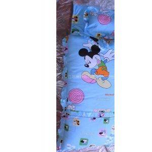 供应高档米老鼠儿童睡袋全棉宝宝睡袋被脱卸睡袋春秋睡袋