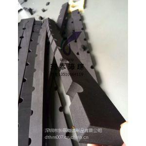 供应深圳东泰EVA卡槽,轴承定位EVA槽,黑色长条EVA凹槽