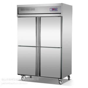 供应广东茶叶冷藏柜 挂猪柜 猪肉冷冻柜 急冻柜 四门冰柜 四门冷藏柜