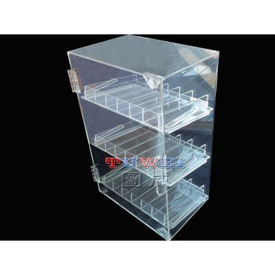 亚克力展示柜定制 亚克力展示架 图威厂家为您量身定做|东莞市图威有机玻璃制品有限公司提供
