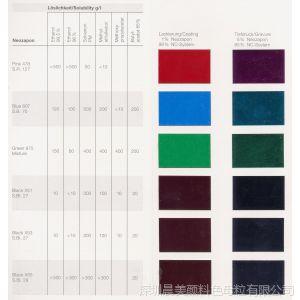 供应塑胶颜料代理销售科莱恩原装进口包装酞菁蓝色粉