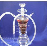 供应玻璃烟斗,玻璃水烟壶,玻璃水烟壶,天宝乐玻璃水烟批发,玻璃水烟