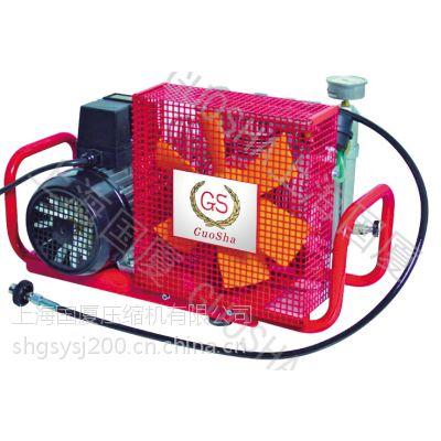 供应上海国厦GSX100A/B电机驱动小型便携式高压空气压缩机