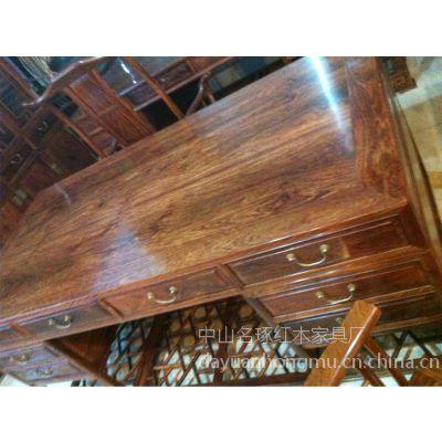 红木大班桌出厂价格 红木办公台价格 酸枝实木画案价格