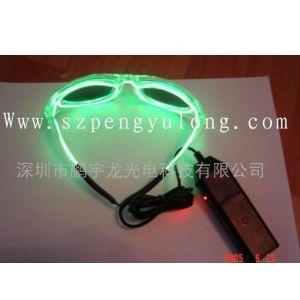 冷光线眼镜,EL发光线,闪光眼镜,发光眼镜,EL冷光线,闪光礼品,发光礼品