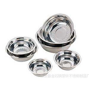 供应特价促销不锈钢汤盆汤盘