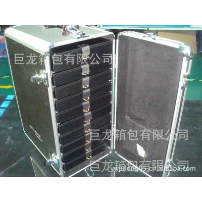 组合工具柜(铝合金多层工具箱),拉杆工具箱 专业铝合金工具箱
