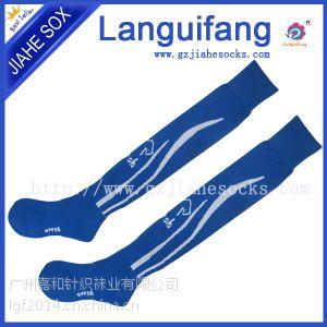 供应提花男士长筒足球袜 专业运动袜 工厂定做生产厂家