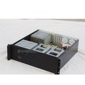 供应3U铝面板带4个插拔盒机箱
