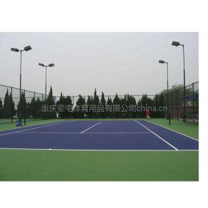 供应重庆成都塑胶网球场,室外丙烯酸网球场,成都标准网球场建设