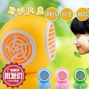 供应usb小黄人香味风扇 涡轮式无叶风扇 空调风扇 学生桌面迷你风扇