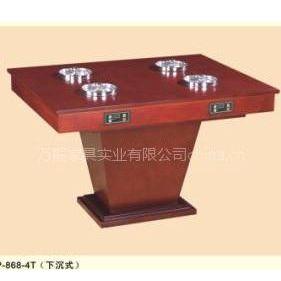 供应电磁炉火锅桌/实木家具/热销产品