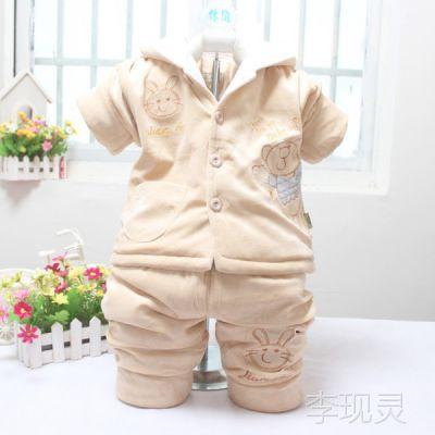 秋冬装童装棉衣套装 婴幼儿加厚棉服 童套装 阿里巴巴一件代发