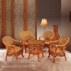 供应西藏藤实木家具厂价直销中式休闲椅 户外桌椅 庭院702