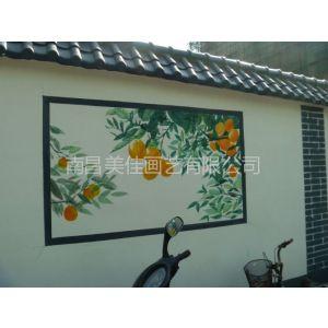供应江西南昌 九江 宜春文化墙彩绘手绘墙涂鸦壁画供应