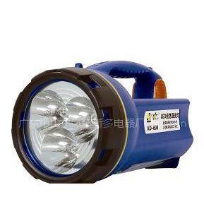 供应LED应急强光灯 充电式手提提灯 探照灯