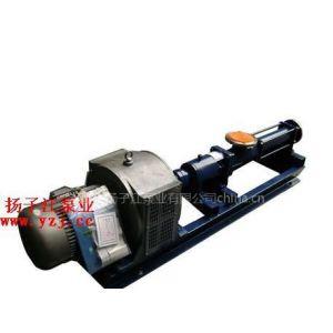 供应螺杆泵价格:G型单螺杆泵配调速电机