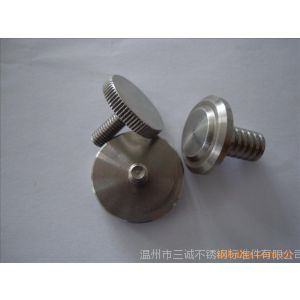 供应定制不锈钢装潢螺母 对夹螺母 冷墩五金件 加工非标定做