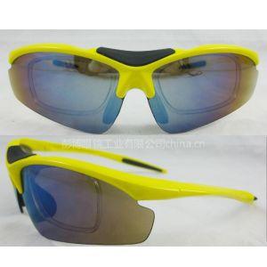 供应换片户外骑行眼镜 摩托车防风镜 自行车近视运动太阳眼镜