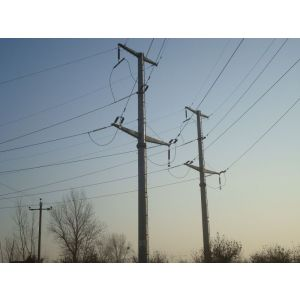 供应供应霸州华兴10KV 66KV 桩基础 钢管杆国家电网 输变电 桩基础 及设备