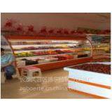 供应株洲市旺旺超市水果地址,水果柜导航仪,保鲜直冷水果柜展示