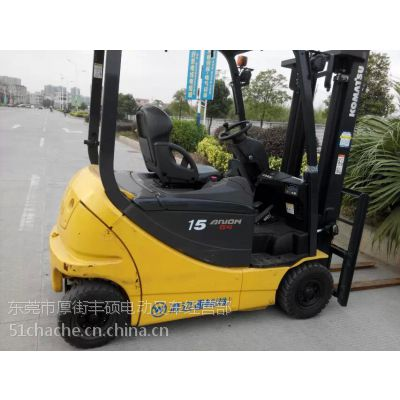 供应江西二手电动叉车 FB15G-12小松叉车