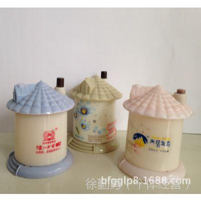 【定制】小房子牙签盒/自动牙签筒,免费设计印广告,促销礼品