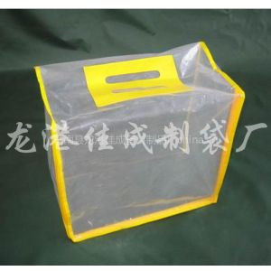 供应嘉兴PVC拉链袋厂家直销、服装包装袋 PVC透明袋 PVC拉链袋
