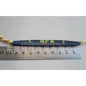 供应专业生产带字母的编织手链,带字母的编织绳子