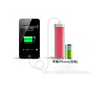 供应口红迷你三星HTC苹果5iphone4s小米手机移动电源通用应急充电宝