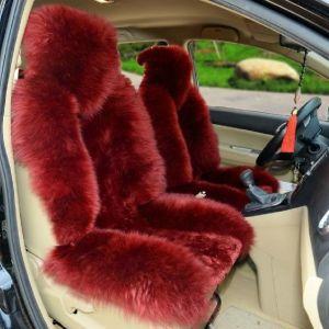 供应冬季汽车羊毛坐垫