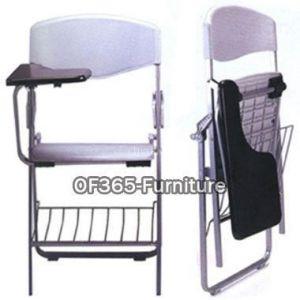 供应南通培训椅/塑料培训椅/带写字板培训椅