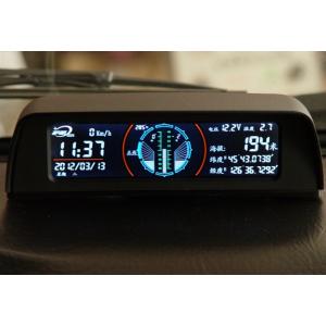 供应哈弗 多功能车载 改装GPS海拔仪 指南针水平坡度仪 汽车改装仪表