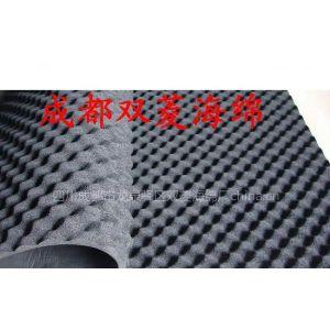 厂家直销发电机吸音海绵 波浪消音海绵 降噪聚氨酯海绵