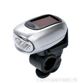 JS-3439 户外太阳能电筒 LED灯 太阳能灯 LED灯自行车灯