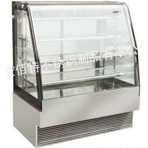 供应供应康佰特上置式弧形四层后开门蛋糕风冷柜