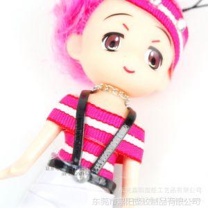 供应pvc软胶娃娃手机挂件 迷糊娃娃手机饰品批发 卡通手机挂件