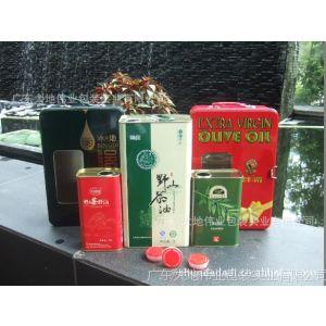 供应亚麻油铁罐、亚麻籽油金属包装罐、有机亚麻籽油铁罐包装