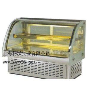 供应上海保鲜柜 弧形桌上型保鲜柜