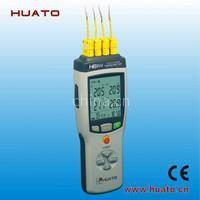 便携式多路耐高温测温仪,热电偶探头,精度高,稳定性好。