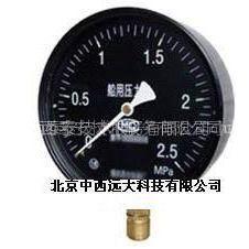 供应船用压力表 型号:WX7L-YC-60 库号:M395488