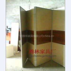 供应折叠屏风/活动屏风/实惠屏风间隔断/腾林家具厂订做