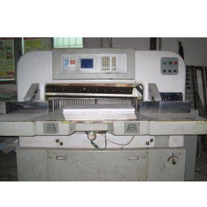 供应二手平凉920切纸机 二手920型液压程控切纸机
