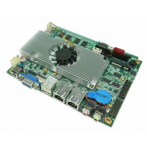 供应深圳派勤3.5寸超薄双网口D525板载2G内存12VDC供电一体机,信息发布系统等工控主板