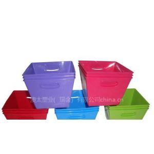 供应方形塑料储物盒