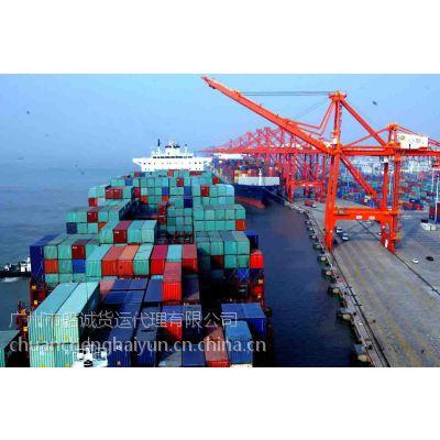 广州到山东滨州船运水运集装箱行情价格