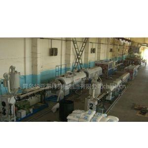 供应青岛华亚塑料机械供应二步法防腐保温管生产线设备