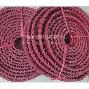 供应万能带 活络带 鳞片带 关节皮带 进口高温耐油搭扣皮带