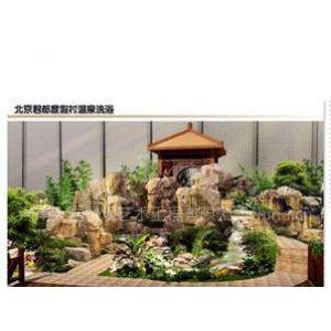 供应GRC假山/翻模假山/塑石假山 北京军都旅游度假村温泉假山