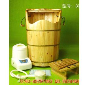 供应供应:健蒸堂托玛琳电气石蒸足桶|蒸脚桶|熏蒸桶|足浴桶|蒸汽桶